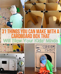 Cool Crafts To Make For Your Room - 31 things you can make with a cardboard box that will blow your