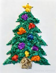 christmas tree tissue paper craft u2013 crayon box chronicles