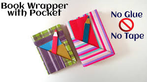 Pocket Origami - useful origami paper book wrap with pocket bookmark no