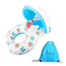 siege gonflable b codream bague de natation gonflable pour mère et bébé bague