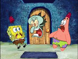 image spongebob squidward u0026 patrick jpg heroes wiki fandom