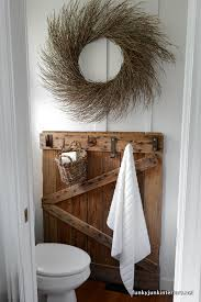 living close to a cabin life with bathroom storage ideasfunky