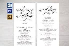 Catholic Wedding Program Cover Wedding Program Photos Graphics Fonts Themes Templates