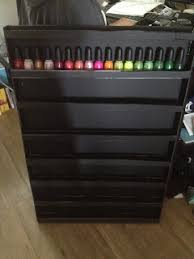 Nail Varnish Cabinet 31 Diy Racks For Nail Polish Display Guide Patterns