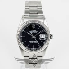 oyster bracelet images Rolex datejust 36mm stainless steel case oyster bracelet white jpg