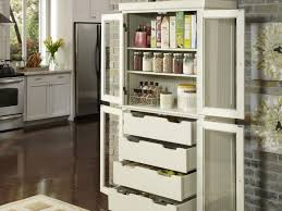 glass doors storage cabinet for kitchen free standing kitchen