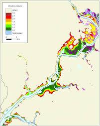 bucks county map more sea level rise maps for pennsylvania