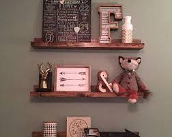 Wood Gallery Shelf ledge shelf etsy
