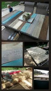 Diy Patio Table Top Pallet Table Top Diy Patio Table Frame With Pallet Boards And
