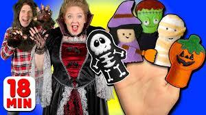 halloween finger family u0026 more finger family songs daddy finger