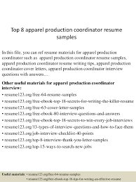 Sample Resume For Production Manager by Apparel Production Manager Resume Samples Corpedo Com