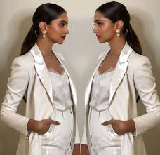 All White Attire For Deepika Padukone In All White Suit The Daily Chakra