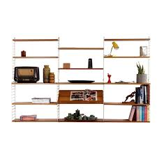 vintage pine wall unit by nisse strinning for string design ab