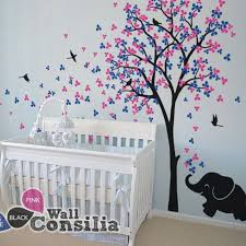 Tree Decal For Nursery Wall Baby Wall Decals Nursery Wall Decals Birch Trees Tree