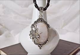 victorian cameo necklace images Unique rose quartz victorian cameo necklace jpg