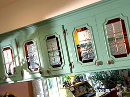 kitchen cabinet door stained glass inserts update kitchen cabinets with glass inserts hgtv