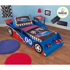 kidkraft racecar 4 piece toddler bedding set walmart com