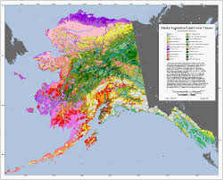 Maps Alaska by Agdc Alaska Land Characteristics Data Set