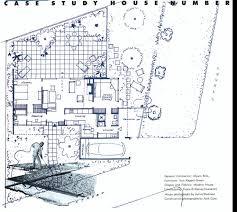 case study house 1 and jr davidson mid century modern groovy case study house 11 floor plan