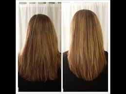 back of hairstyle cut with layers and ushape cut in back how to cut your own hair in long layers easy hair cut tutorial