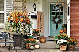 fall decorations for outside front porch decorating ideas for fall simple front porch