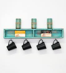 Reclaimed Wood Shelves by Reclaimed Wood Mini Tea Shelf Features Reclaimed Wood Doug And