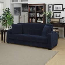 Navy Sleeper Sofa Navy Blue Living Room In Debonair Light Blue Navy Blue
