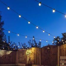 smartyard led string lights traditional plastic garden string lights ebay