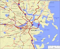 road map massachusetts usa map of boston massachusetts afputra