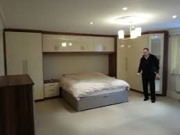 Fitted Bedroom Furniture Ideas Bedroom Bespoke Built In Fitted Wardrobe Mirrored Modern Bedroom