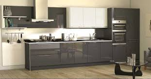 Kitchen Contemporary Cabinets High Gloss Kitchen Cabinet Grey Http Makerland Org