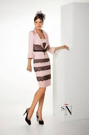 dress and jacket for wedding buy bacconi crepe dress with beaded top ballet pink 8