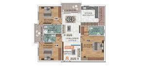 Greenpark Homes Floor Plans Patel U0027s Green Park Om Sree Builders U0026 Developers At Yapral