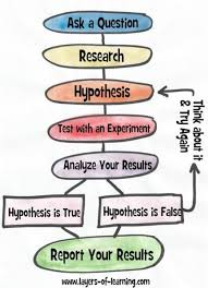 connecting the steps of the scientific method video
