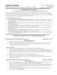 resume examples for professionals resume examples for experienced