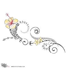 Polynesian Flower Tattoo - 64 best polynesian tatoos images on pinterest maori tattoos