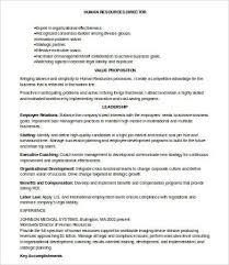 Director Of Human Resources Resume Hr Resumes 7 Free Word Pdf Documents Download Free U0026 Premium
