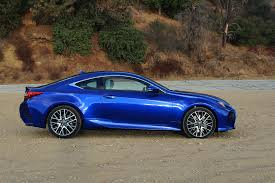 lexus sports car blue 2016 lexus rc 350 f sport one week review automobile magazine
