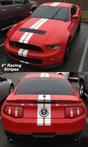 stripes on mustang 2010 2011 2012 2013 ford mustang racing stripes automobile