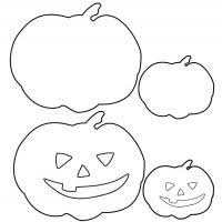 4 best images of pumpkin halloween mask templates printable free