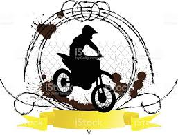 motocross racing logo dirt bike logo stock vector art 96337729 istock