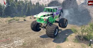 1979 bigfoot monster truck pastrana grave digger monster truck u2013 spintires nl