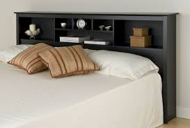 queen size headboard with shelves designs also black headboards
