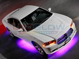ledglow purple wireless led underbody lighting kit