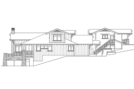 bungalow house plans with rear entry garage