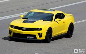 yellow camaro zl1 chevrolet camaro zl1 2014 11 april 2016 autogespot