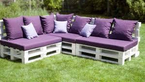 inspirant canapé en palette bois idées de conception de jardin