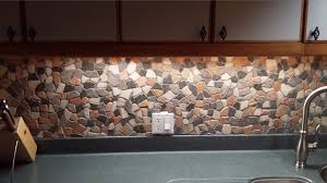 glazed autumn mosaic tile pebble tile shop