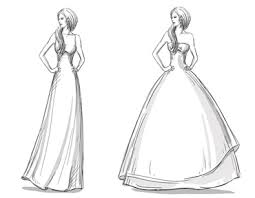 drawing wedding dresses explore wedding dress couture in 3 simple steps bridal manor