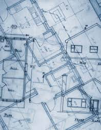 blueprints a set of detailed scaled drawings or plans of a home
